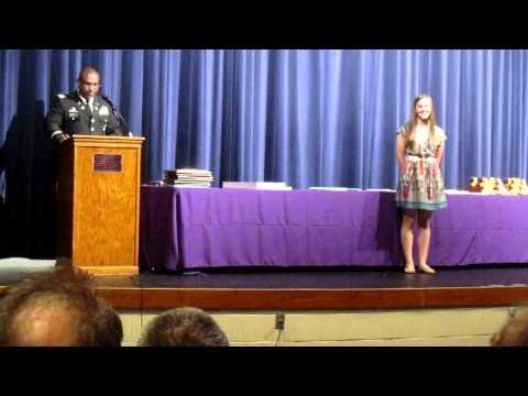 Michelle's UT Army ROTC Scholarship Presentation