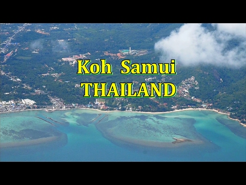 Flying from Koh Samui to Krabi Thailand .....Good Bye Koh Samui
