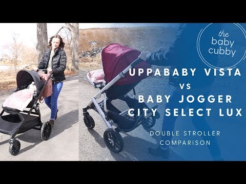 Baby Jogger City Select Lux vs Uppababy Vista Comparison | Convertible Stroller