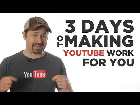 PROMO: 3 Days to Making YouTube Work for You