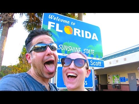 NY to FLORIDA in 24 HOURS VLOG