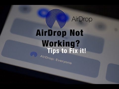 Airdrop Not Working?