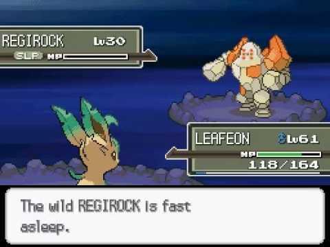 [PM] Pokémon Platinum - VS. Regirock