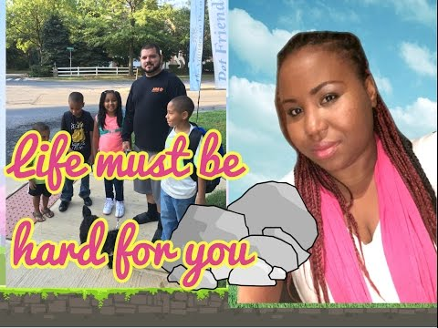 LIFE MUST BE HARD FOR YOU* RAISING 4 KIDS* DAILY VLOG