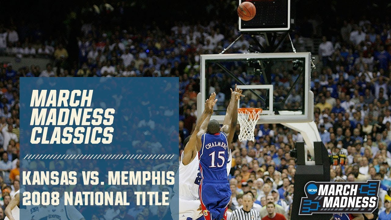 Kansas vs. Memphis: 2008 National Championship | FULL GAME