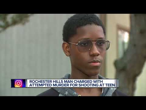 Man gets $50K bond after allegedly shooting at teen asking for directions