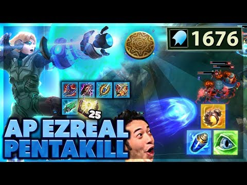 THIS WILL 100% BE NERFED | THIS DAMAGE IS INSANE | 1676 AP EZREAL - BunnyFuFuu