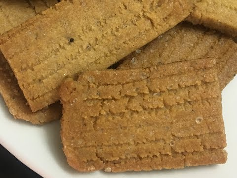 Bakery atta biscuit,Atta Biscuit,Whole Wheat sweet Biscuits Recipe, Indian biscuit,Healthy biscuit