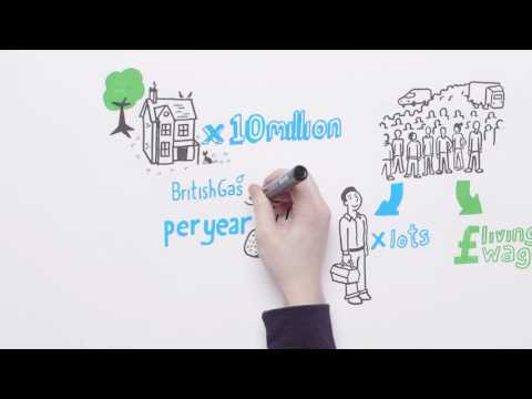 British Gas – Running our business explained in less than 60 seconds