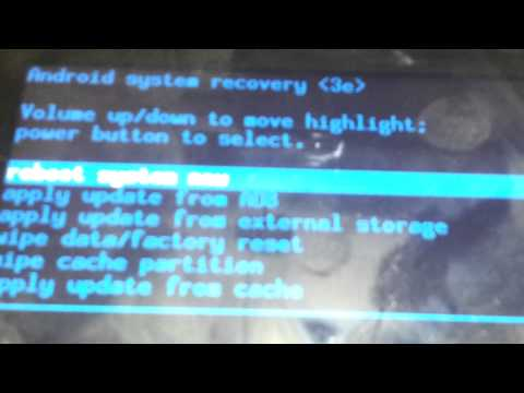 How to factory reset samsung galaxy tab 2 10.1