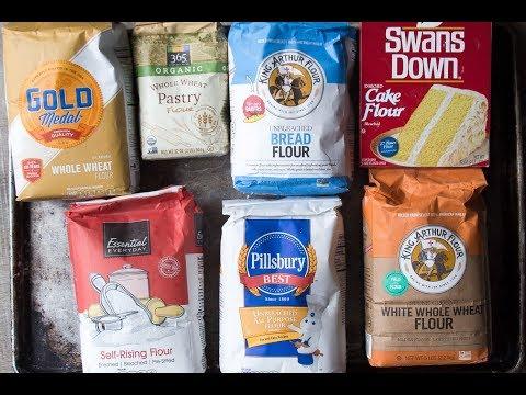 THE FUNCTION OF FLOUR IN BAKING | varieties of flour