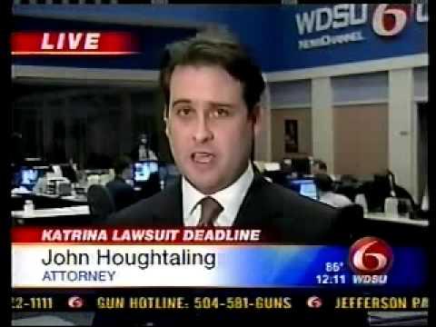 John Houghtaling discusses Katrina Lawsuit Deadline