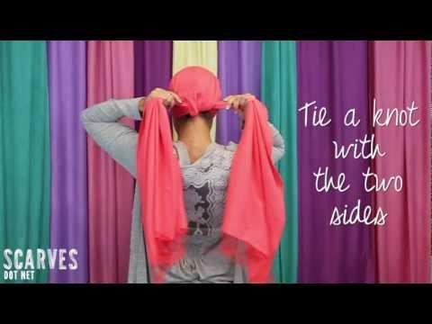 How to Tie a Head Scarf: Twist & Shout