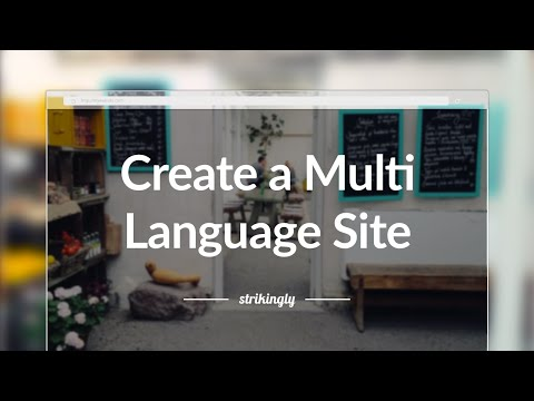 Strikingly Tutorials: How to Create a Multi-Language Site