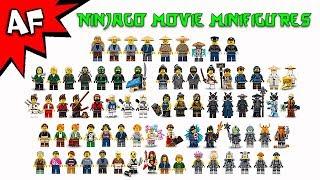 Lego Ninjago Movie Minifigures 2017 Complete Collection