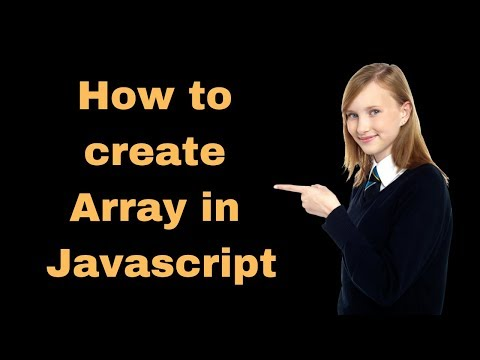 How to use array in javascript