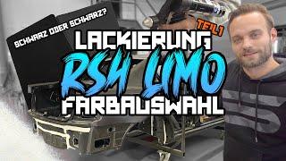 Die RS4 Limo 2.0 -  Die ersten Schritte der Lackierung / Farbauswahl! #15 | Philipp Kaess |