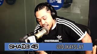 David Bars interview with Dj Kayslay at Shade 45