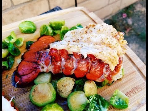 How to cook LOBSTER TAILS - Oven Baked