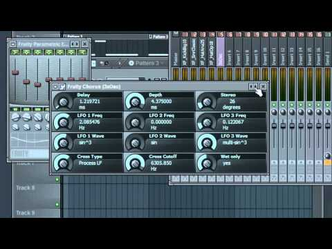 FL Studio - How to make Dubstep Music: Wobble Bass in