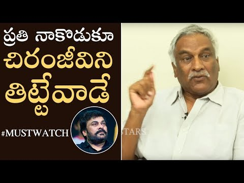 Tammareddy Bharadwaj Genuine Explanation About His Comments Over