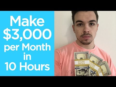 Make $3,000 per Month as a BROKE BEGINNER (Age 14-18)