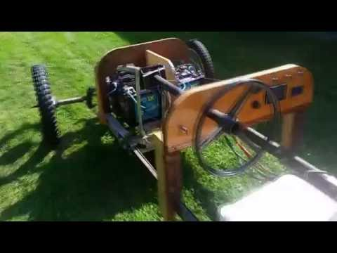 DIY Cycle Car (2nd video)