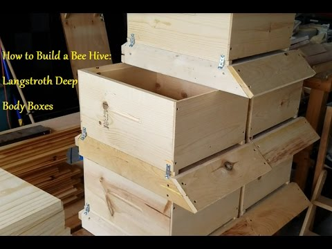 How to Build a Beehive: Langstroth Deep Body