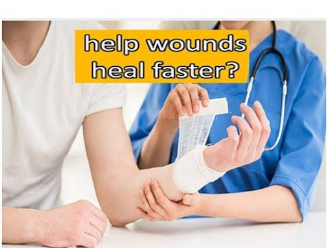 How can wounds or cut  heal faster quickly in 2 to 5 days|heal in stages|care dressing