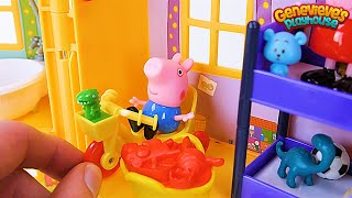 Download PEPPA PIG gets a new toy House in this Kids Learning ! Video