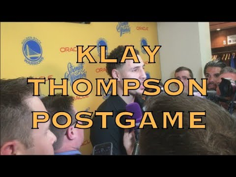 Entire KLAY scrum (w/ QUOTES) on injury: