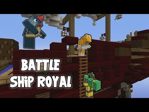 Minecraft Xbox - Battle Ship Royal Vs Choo Choo/Superchache