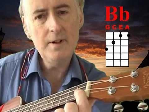 How I play the dreaded B Flat chord on my Ukulele!