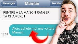 LES PIRES SMS DES PARENTS !