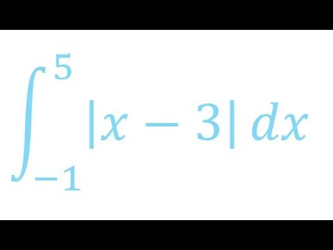 Definte integral of absolute value functions?निरपेक्ष कार्यों का स्थिर अभिन्न BS(IT) paper.