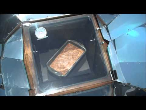 Solar Oven Dehydrated Apple Mango Bread