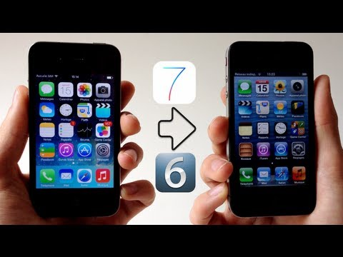 Downgrade iOS 7 Beta/GM vers iOS 6 (6.1.3 / 6.1.4) - iPhone 4, 4S, 5, iPad 2,3,4 Mini, iPod touch 5G