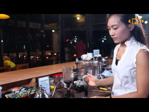 How to make luwak coffee with syphon