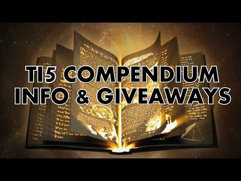 TI5 Compendium explained & giveaways