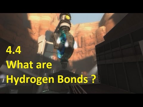 4.4 What are Hydrogen Bonds ? [SL IB Chemistry]