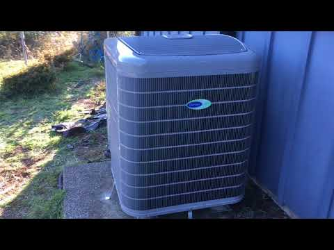 Carrier Infinity Heat Pump Replacement