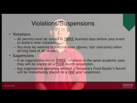 UH Risk Management - Food Safety