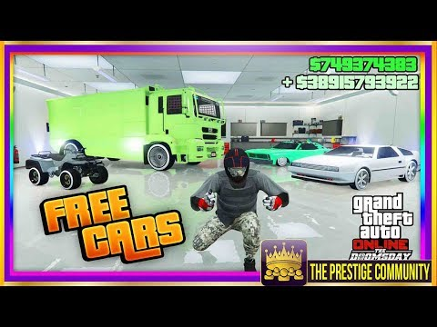 No MOC/Avenger/DELUXO Needed! EASIEST Free Cars Money Glitch! Receive ANY Car FREE GTA Online 1.42
