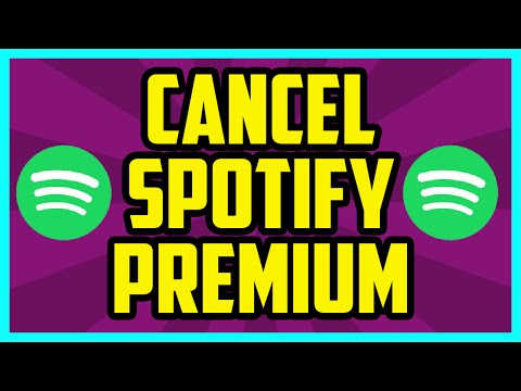 HOW TO CANCEL SPOTIFY PREMIUM 2018 (QUICK & EASY) - How To Cancel Spotify 3 Month Trial