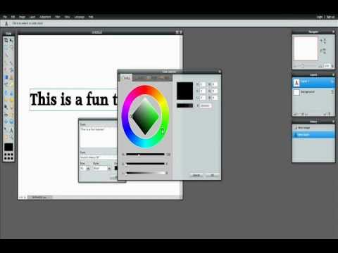 Lesson 2: How to Add Text to Your Photos on PhotoShop Online