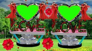 Wedding green screen effect background((Green screen