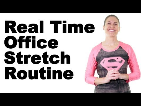 Easy Real Time Office Stretching Routine - Ask Doctor Jo
