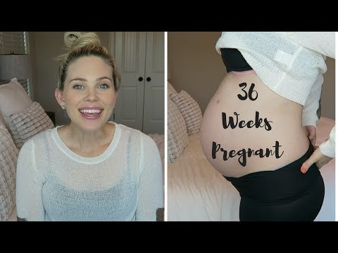 36 WEEKS PREGNANT! | ALMOST TERM! | 8 MONTHS PREGNANT | ICP TESTING
