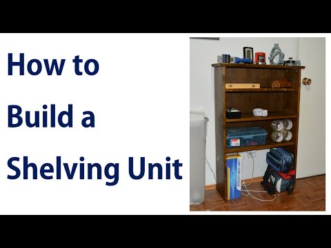 How to Build a Simple Shelving Unit