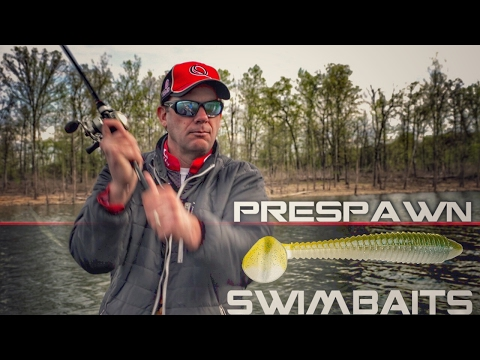 KVD Explains How to Target Prespawn Bass With Swimbaits